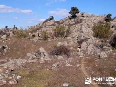 La sierra Oeste de Madrid. Puerto de la Cruz Verde, Robledo de Chavela, ermita de Navahonda. grupo s